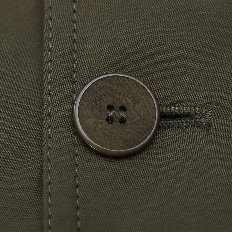 COHEN 001B - jakke - Jakker - Regular fit - DARK OLIVE - 4
